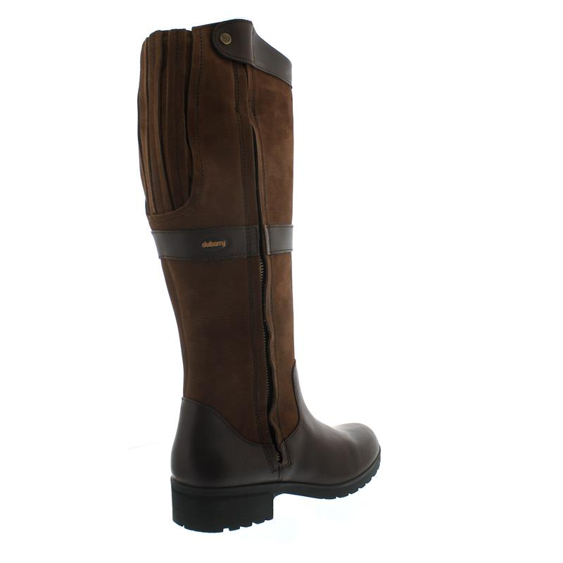 Dubarry Sligo, Dry Fast - Dry Soft Leder, Walnut, Reißver., Gore-Tex Ausstattung 3948-52
