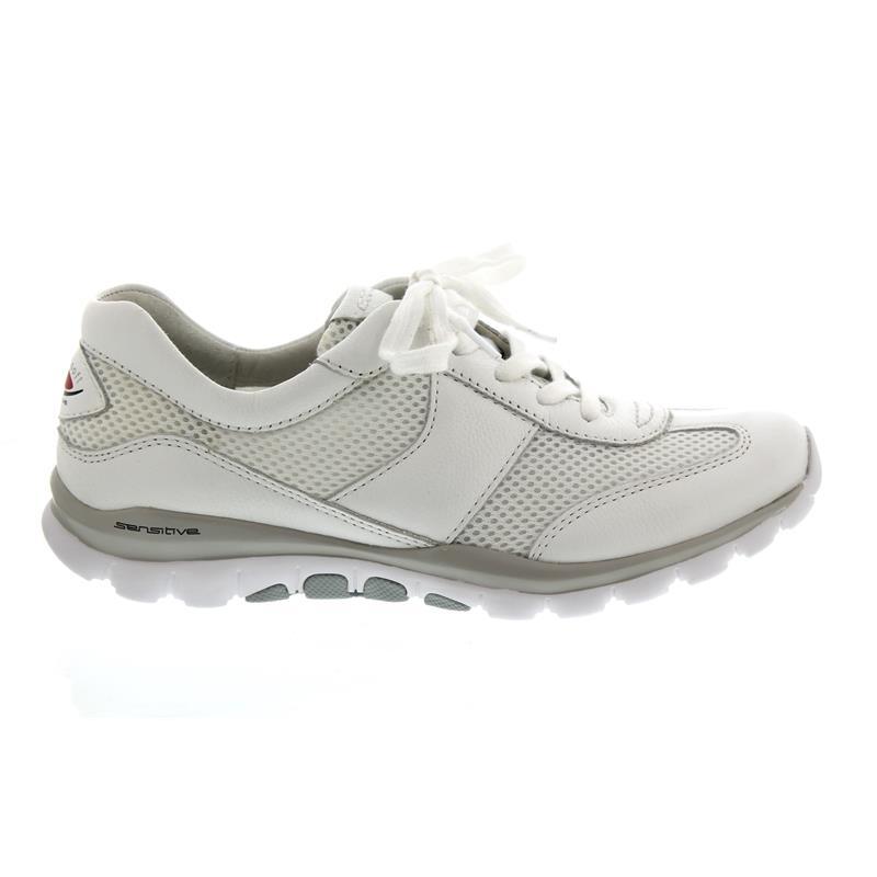 c530f107bb4cdd Gabor Rollingsoft Sneaker 26.966.50 in weiss Mesh Cervo