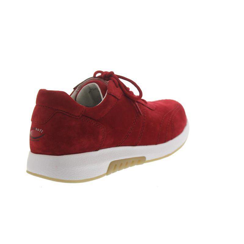Rollingsoft Sneaker, Nubuk, rubin, Wechselfußbett 26.945.48