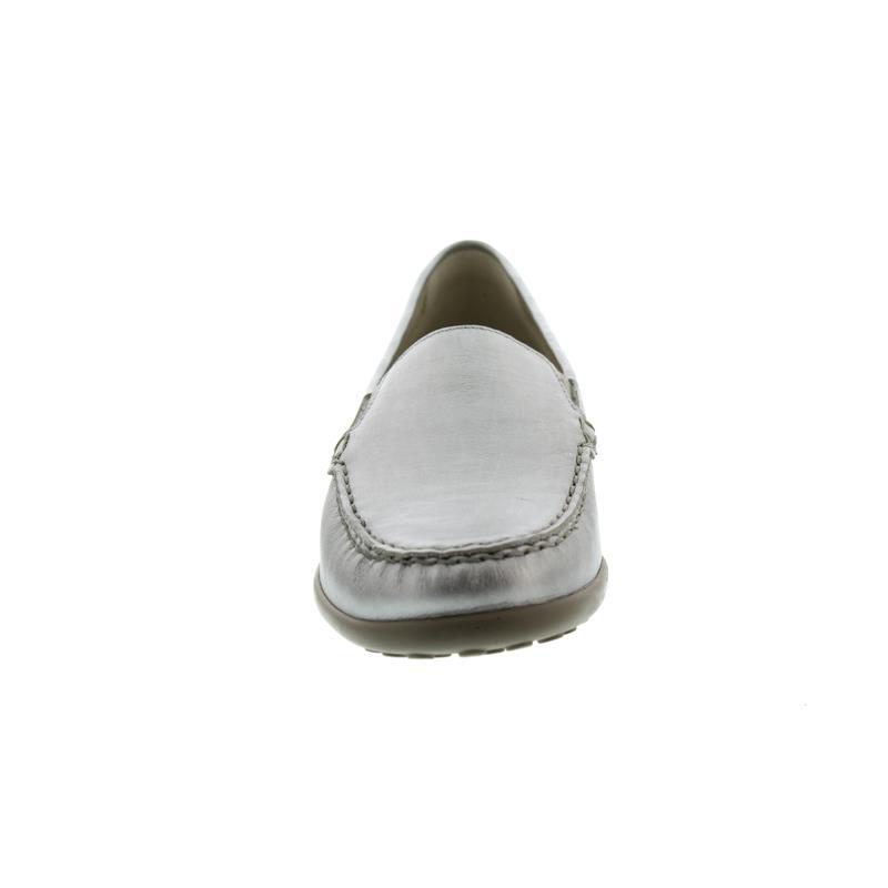 Waldläufer Kläre, Mokassin, Memphis (Metallicleder), taupe , Weite K 640004-186-230