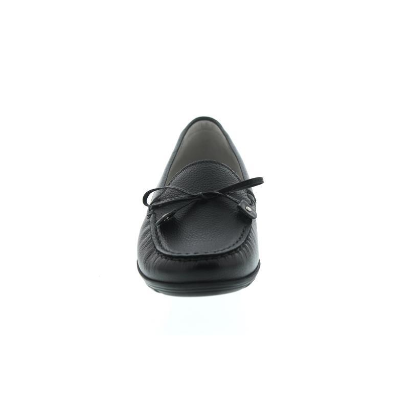 Waldläufer Hesima, Mokassin, Pigalle/Memphis (Glattleder), schwarz, Weite H 329501-207-001