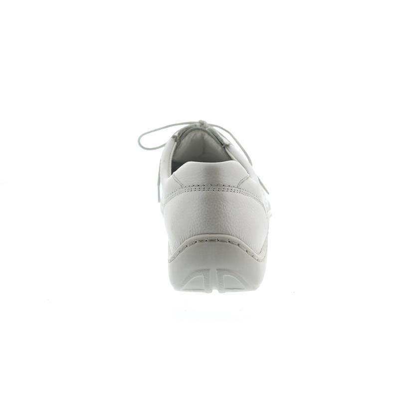 Waldläufer Henni, Pro-Aktiv Fussbett, Pigalle (Glattleder), offwhite, Weite H 496003-172-148