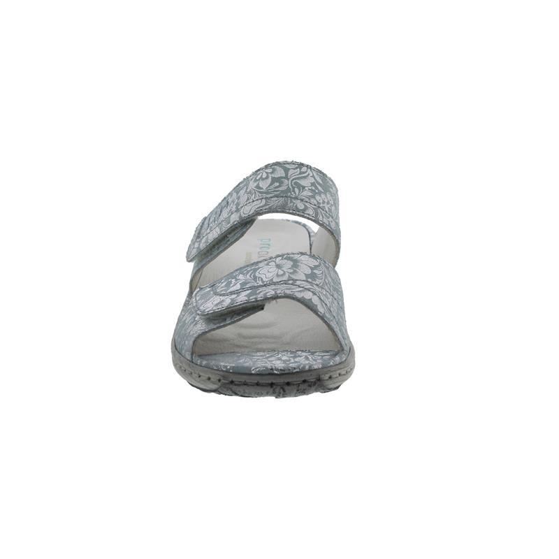 Waldläufer Garda, Pantolette, Lissi (Nubuk), mare, Pro-Aktiv Fussbett, Weite G, 210501-136-140