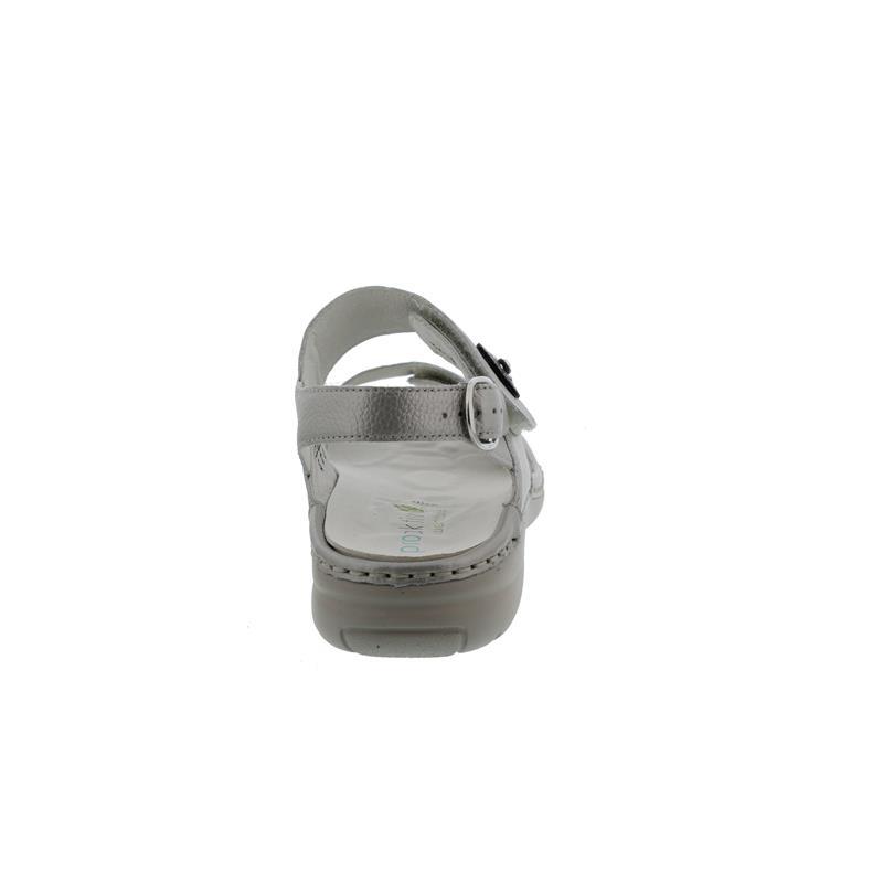 Waldläufer Gunna, Pro-Aktiv-Fußbett, Pigalle (Metallicled.), taupe, Weite G 204001-172-230