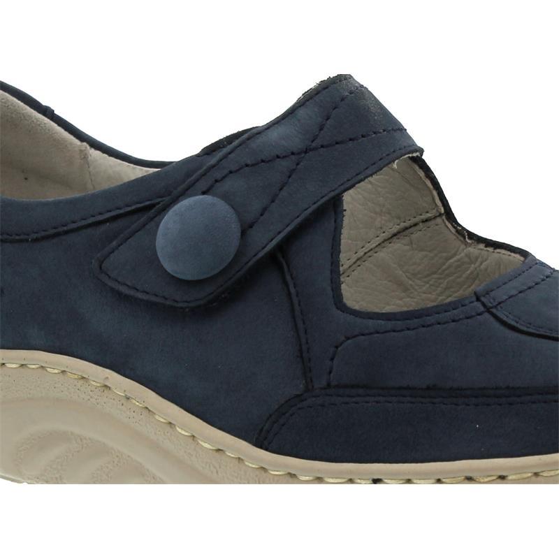 Waldläufer Helli, Dynamic-Sohle, Denver (Nubukleder), jeans, Weite H, 502301-191-206