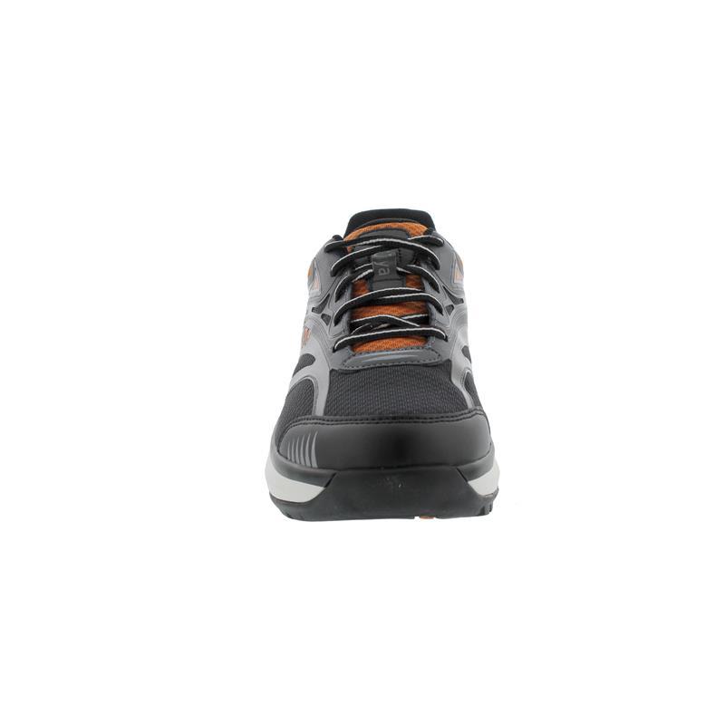 Joya ID Zack Black Orange, Textil / PU, Curve-Sohle, Kategorie Motion 141spo