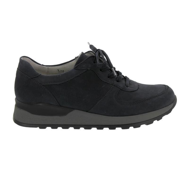 online zum Verkauf Shop für echte gute Qualität Waldläufer Hiroko, Sneaker, Denver (Nubukleder), marine, Weite H  364013-191-217