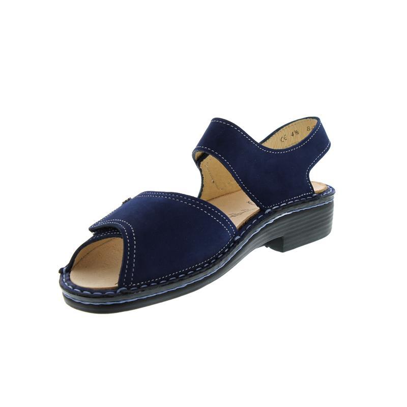 Finn Comfort Luxor, Sandale , Nubuk, Atoll (blau) 2408-007414