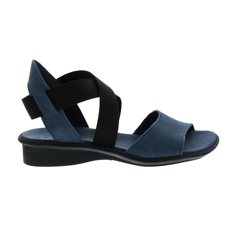 Arche Satia, Sandalette, Navy, Timber (Nubukleder), Latexsohle
