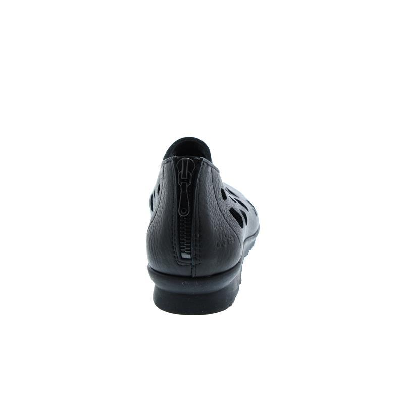 Arche Barora, Slipper, Vachette fast (Glattleder), Noir (schwarz), Reißverschluss (Ferse)