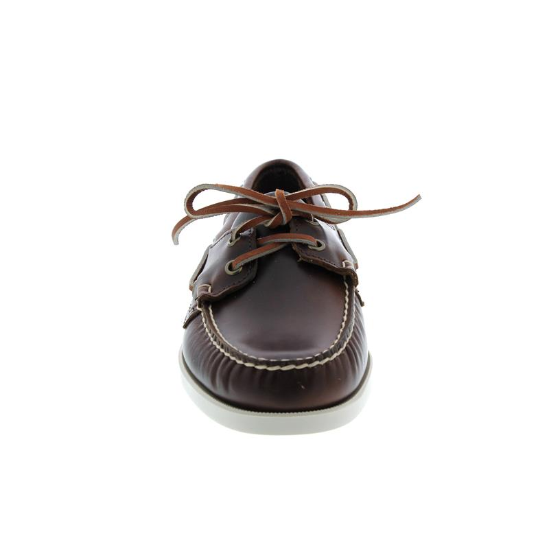 Sebago Docksides, Full-Grain Leather, Brown Oiled Waxy, Men 70000G0-900