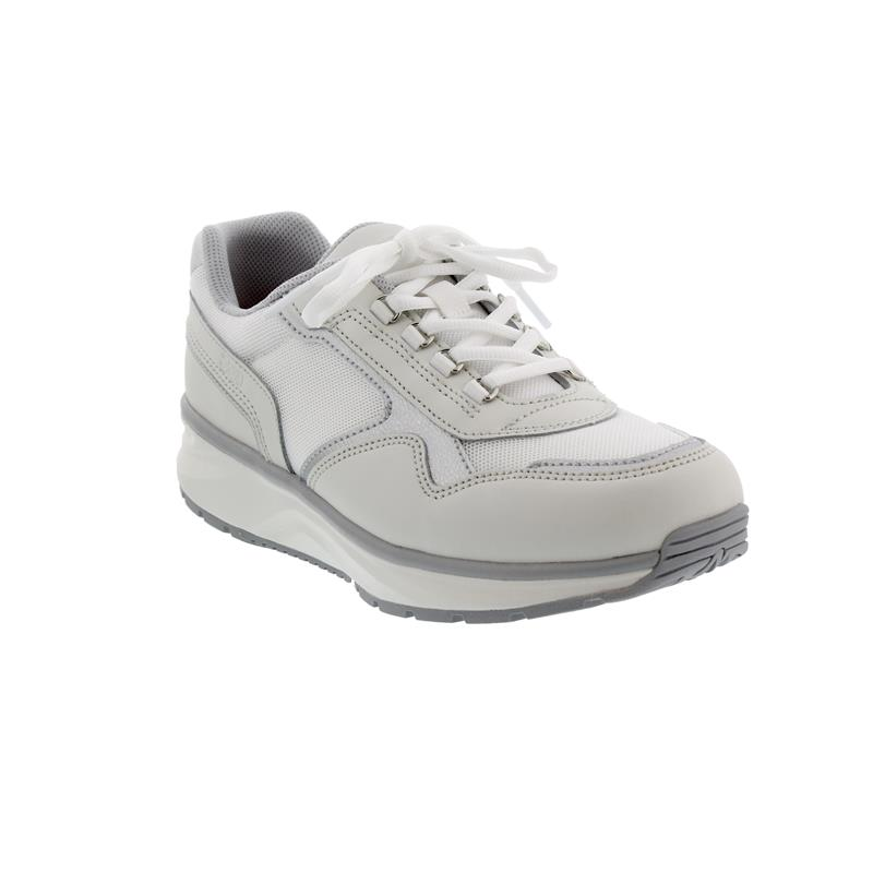 Joya Tina II White Silver, Full-Grain Leather / Leather / Textile, Air-Sohle, Kat. Emotion 790spo