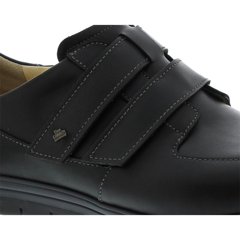 Finn Comfort Nasca Halbschuh,  Finn-Plus (extraweit), Trento (Glattleder), schwarz 1401-062099