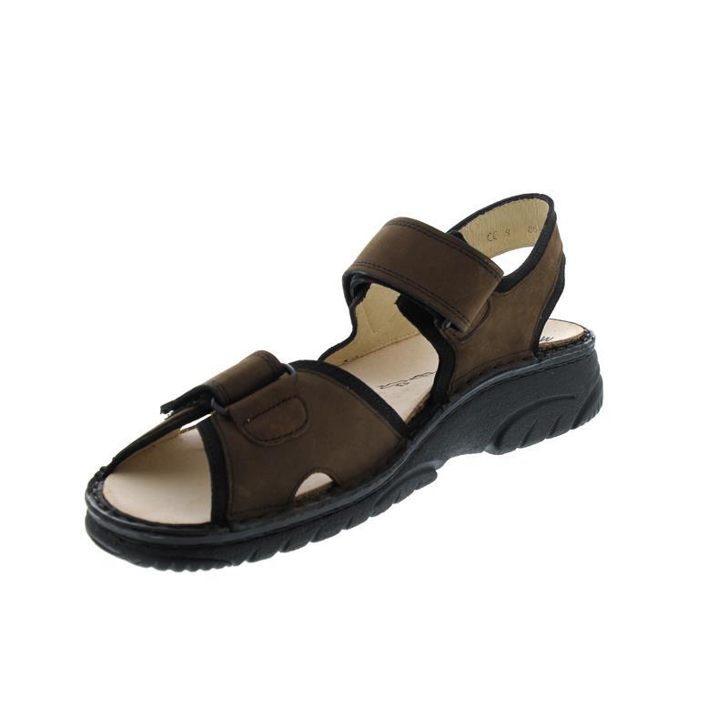 Finn Comfort Colorado - Sandale, Buggy (Nubukleder), havanna / schwarz 1150-900101