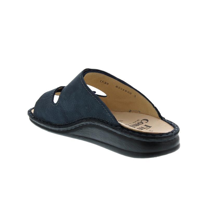 Finn Comfort Riad, Pantolette, Mustang (Nubuk), marine, 1505-636046