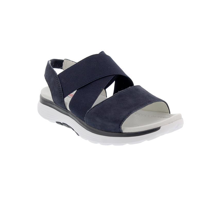 Rollingsoft Sandale, Nubuk, blue 26.915.36