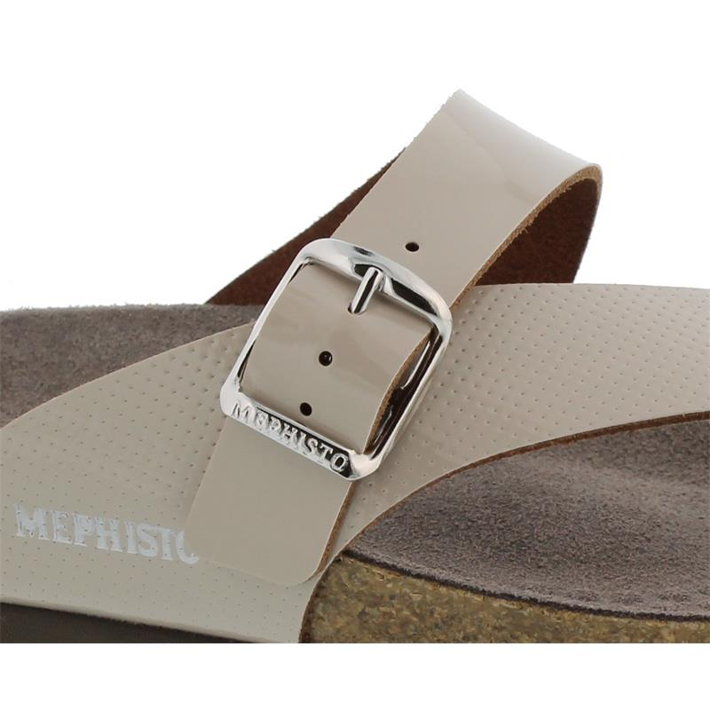 Mephisto Helen M. Perf, Vernis 1112 (Lackleder), Light Sand (beige), Zehensteg H4540