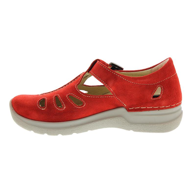 Wolky Smiley, Oiled suede (Veloursleder), Red summer, 0660540-570