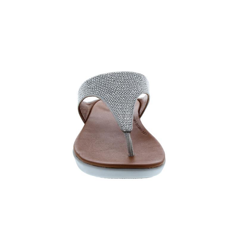FitFlop Banda Crystalled, Zehensteg, Silver Q91-011