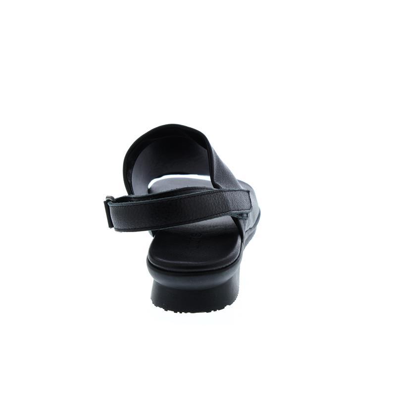 Arche Aurasy, Sandalette, Rocky dbl cuir (Glattleder), Klettverschluss, Noir (schwarz)