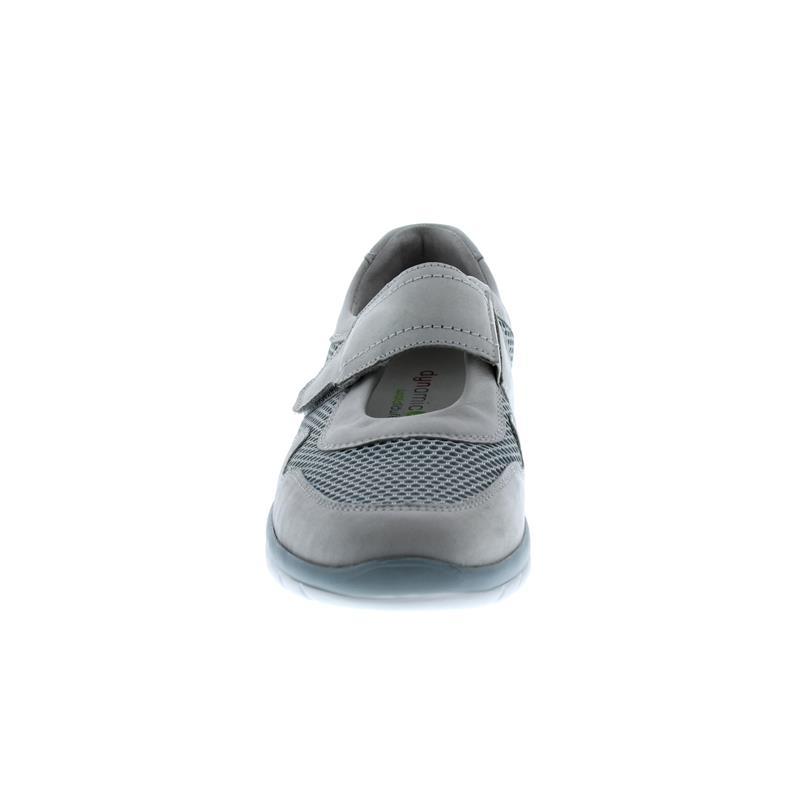 Waldläufer Harper, Dynamic-Sohle, Denver (Nubuk)/Sportnet, cement/grau, Weite H 969302-200-743
