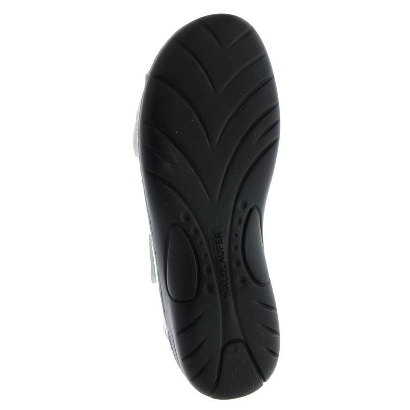 Waldläufer Gunna - Sandale, Pro-Aktiv-Fußbett, Memphis (Glattleder), weiss, Weite G 204001-186-150