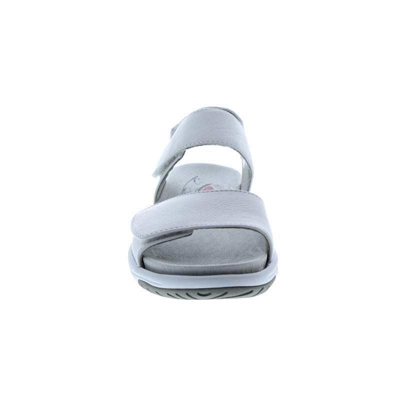 Rollingsoft Sandale, Cervo (Glattleder), weiss, Wechselfußbett 26.929.50