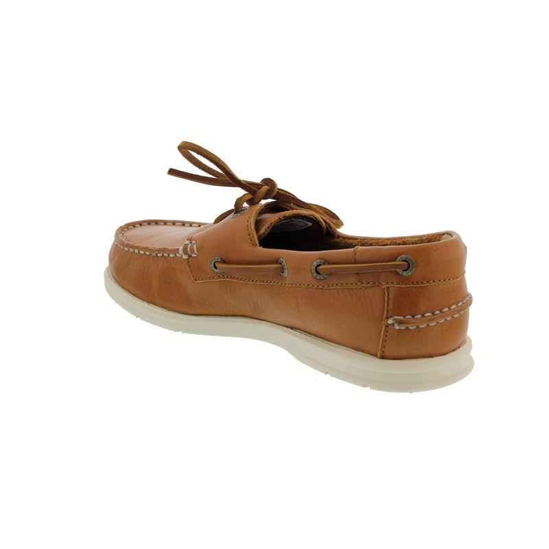 Sebago Naples W, Full-Grain Leather (Glattleder), Brown Tan, Woman 70014W0-912