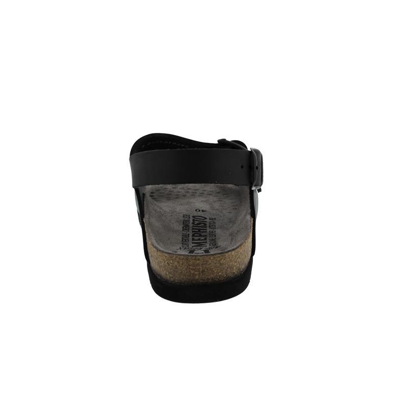 Mephisto Nardo, Herrensandale, Scratch 3400 (Glattleder), schwarz N1826
