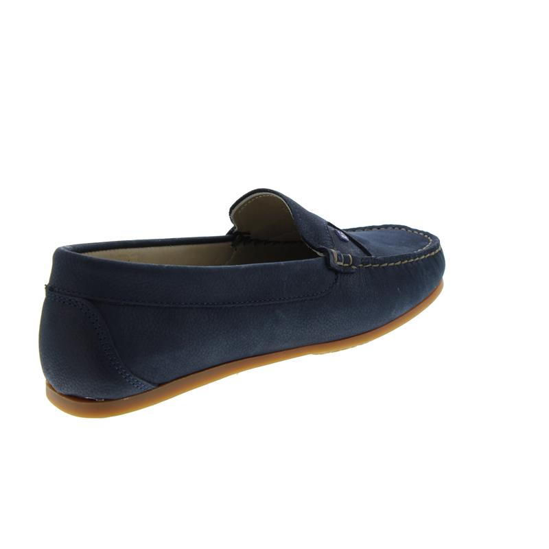 Dubarry Bali, Mokassin, Dry Fast-Dry Soft Nubukleder, Navy, Wechselfußbett 3742-03