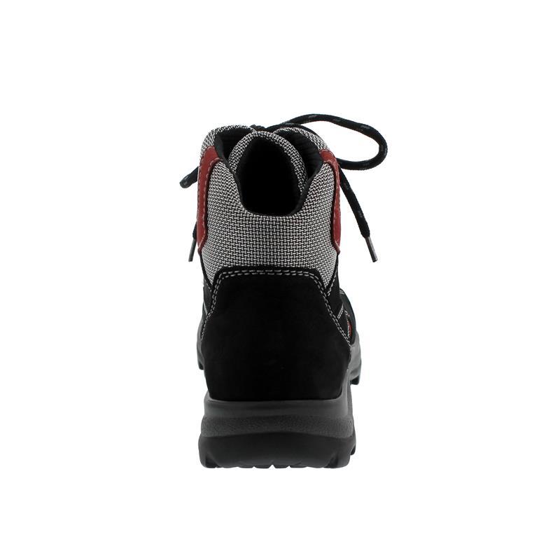 Waldläufer Holly, Waldläufer Tex, DenverTorrix, schwarzrubinsilber (rot), Weite H 471900 911 868