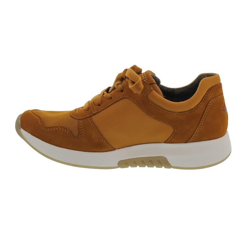 Rollingsoft Sneaker, Mesh / Samtch. / Nylon, curry, Wechselfußbett 36.946.30
