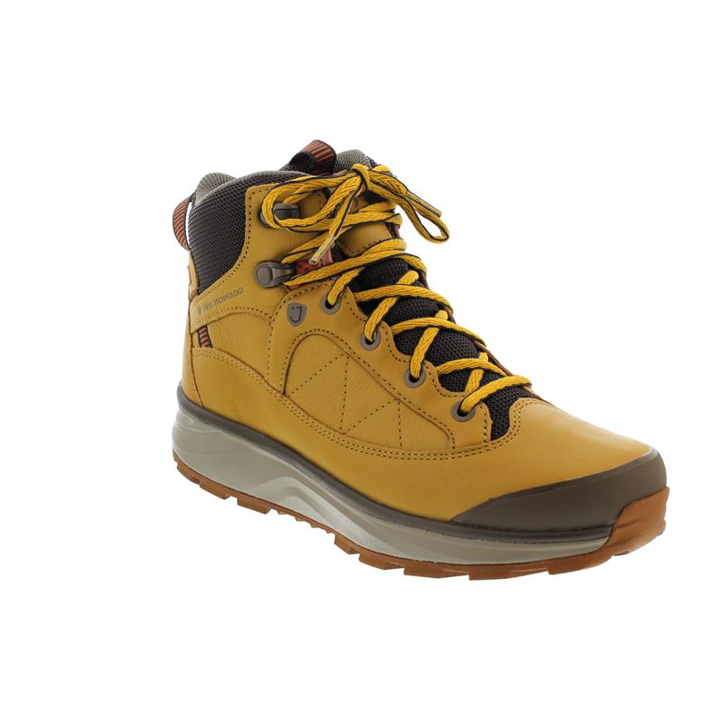 Joya Montana Boot PTX Yellow, Prooftex, Air Sohle, Full Grain Leather, Textile, 814out