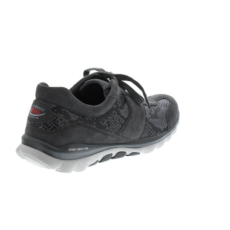 Gabor Rollingsoft Damen Sneaker Carbone Snake Elastic