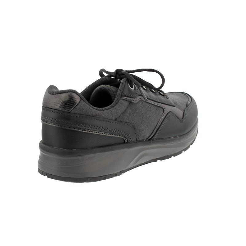 Joya Tina II Black Sneaker, Full GraiLeather/ Velour  Leather/ Textile, Air-Sohle, Kat. Emotion 866spo