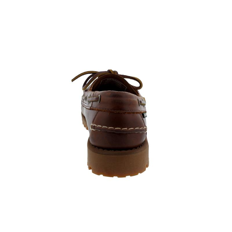 Sebago Portland Lug, Waxy-Leather, Brown Gum, Men 7001HU0-925