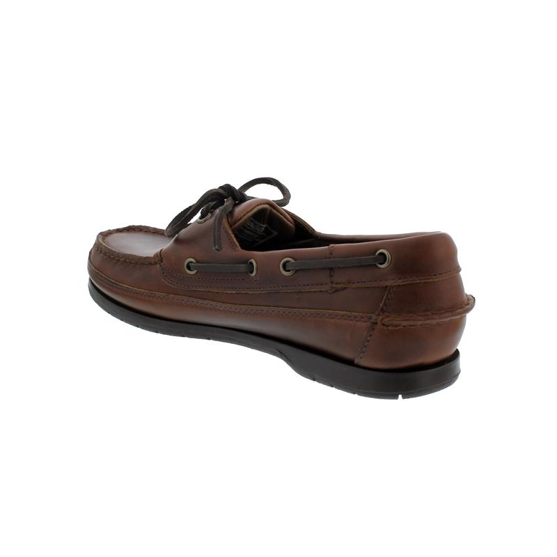 Sebago Schooner, Full-Grain Waxy-Leather, Brown Gum, Men 7000GD0-925