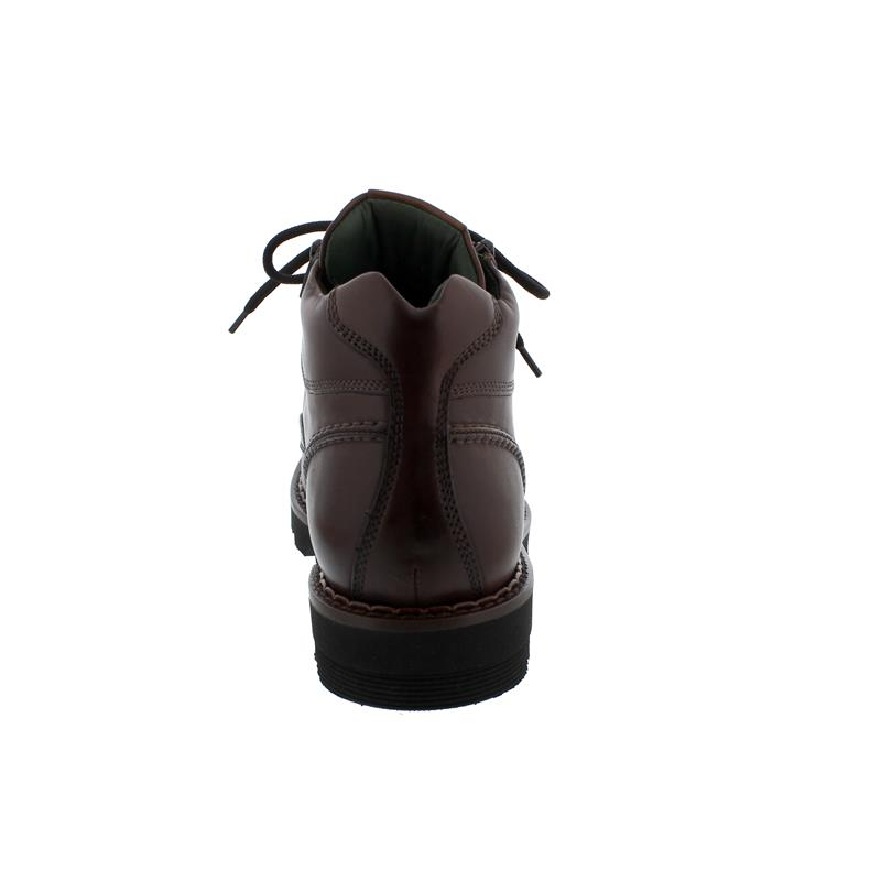 Galizio Torresi Bootie, Vitello King (Glattleder), cognac, Schnür. und Reißver., Wechselfußbett 322898