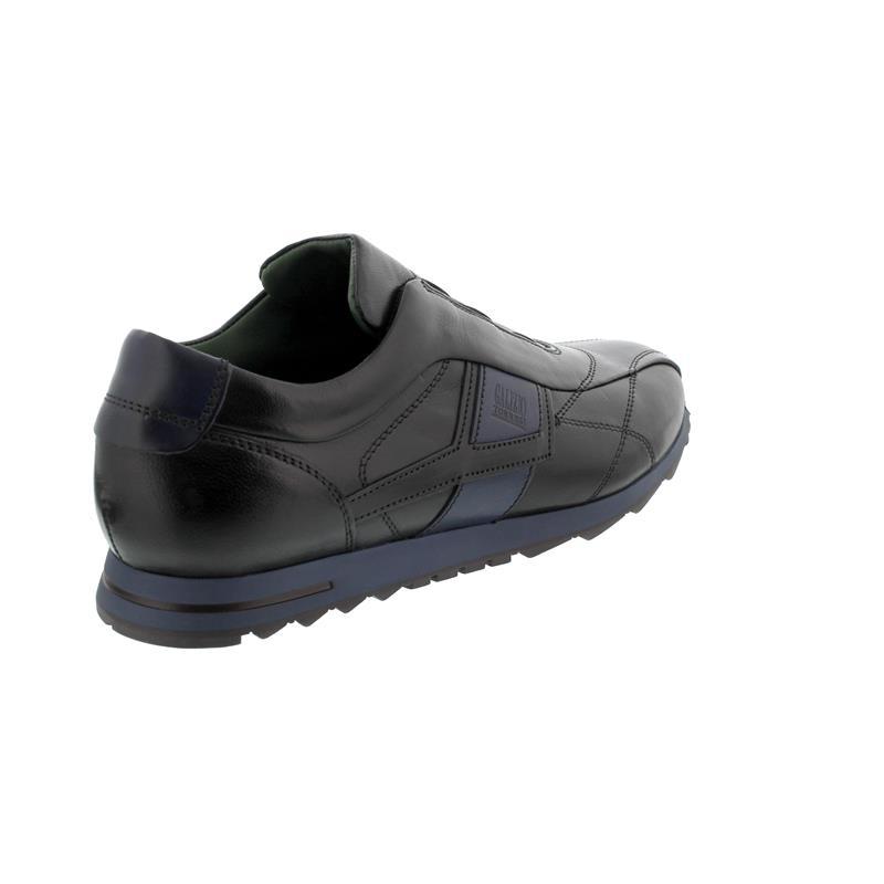 Galizio Torresi Slipper, Vegas / Indio (Glattleder), nero-blu, Wechselfußbett 313998