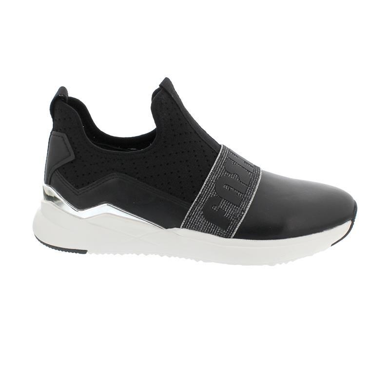 Gabor Sneaker, NappaStretch HT, schwarz, Best Fitting, Wechselfußbett 43.481.27