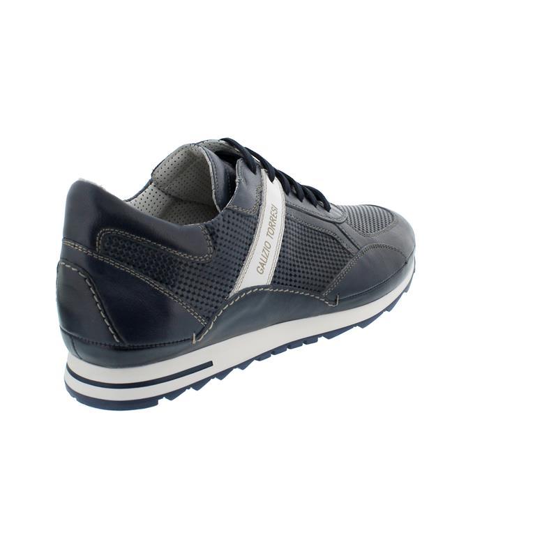Galizio Torresi Sneaker, Veg. (Glattleder), Blu- Blu ST.-SPO. BIA Wechselfußbett 413164A