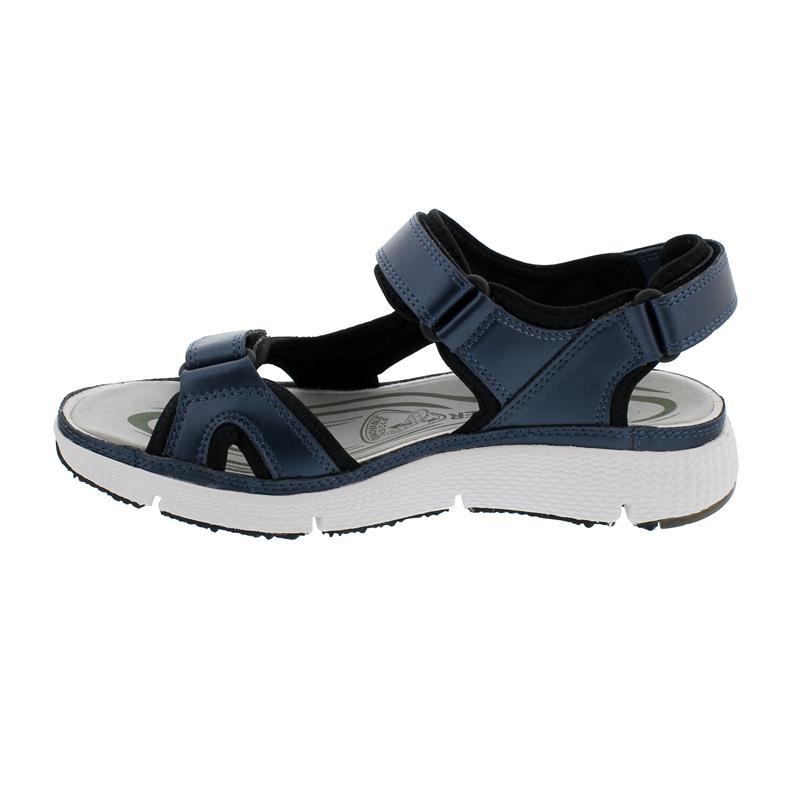 Allrounder ITS ME Sandale, Pearl, dress blue,  Klettverschluss, Wechselfussbett AI005