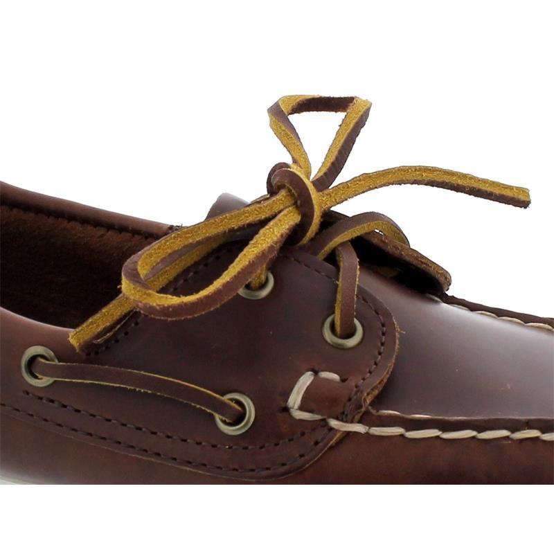 Sebago Docksides, Waxy Leather (Glattleder), brown, Women 71111HW-900