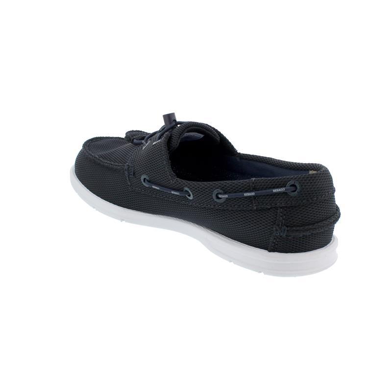 Sebago Naples Tech Bootsschuh, Mesh-Material,  blue-navy, Men 70014Z0-908