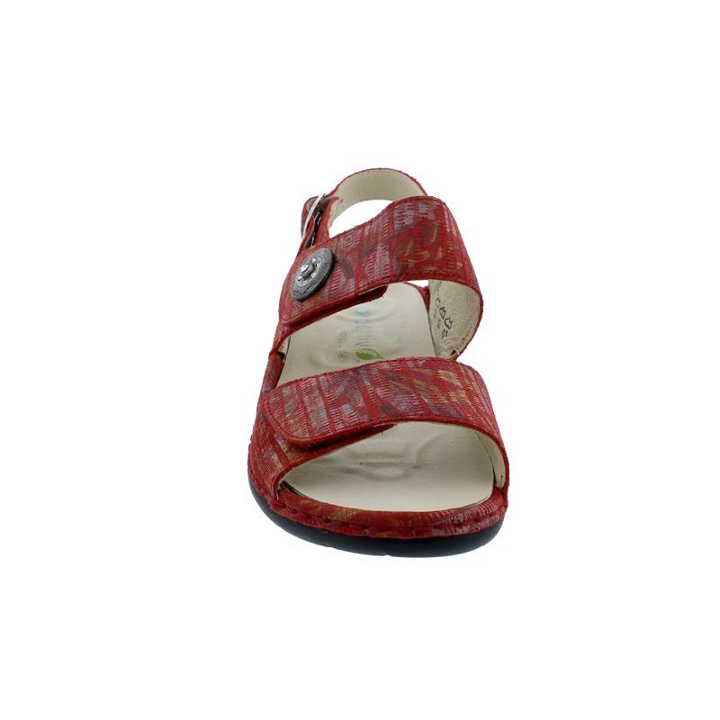 Waldläufer Gunna, Pro-Aktiv-Fußbett, Meadow (bedr. Nubukled.) firmino, Weite G 204001-144-069