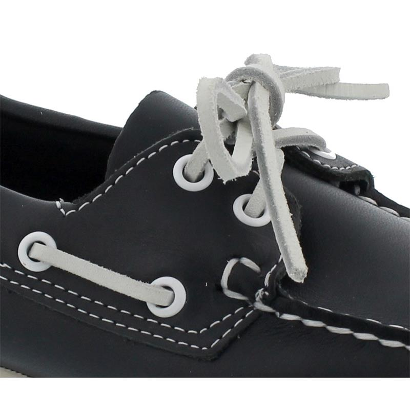 Sebago Docksides, Full-Grain Leather, Blue Navy, Women 7000530-908