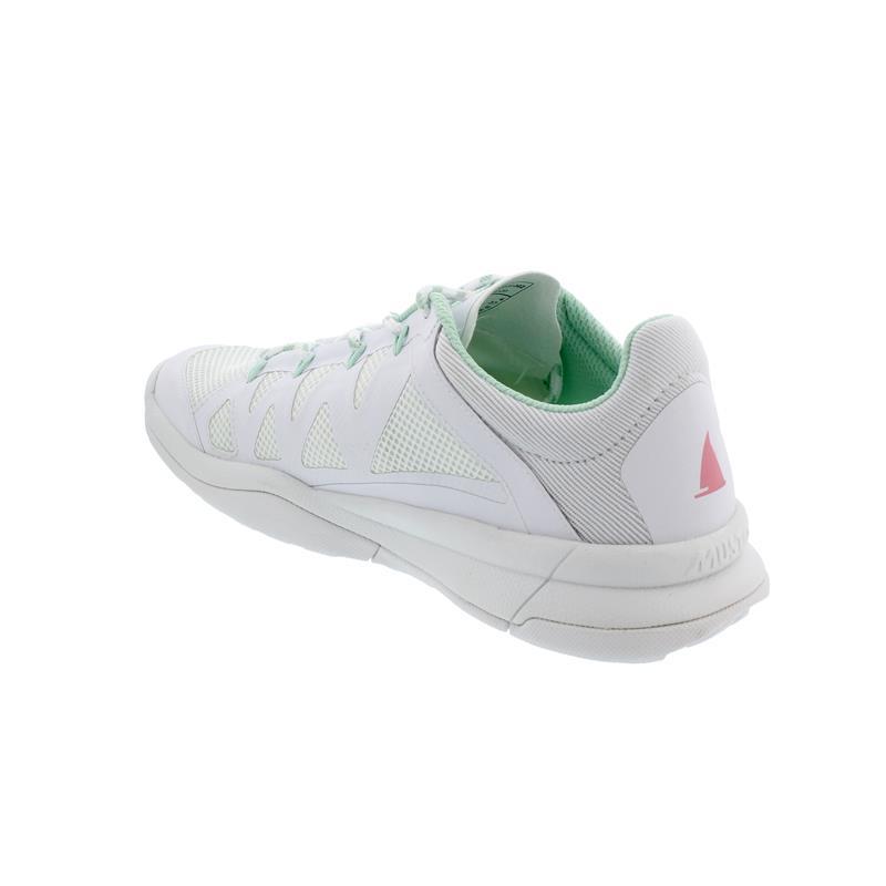 Musto Dynamic Pro II Apart, White, schnelltrocknend, Grip Deck Sohle, MFWFT013WH