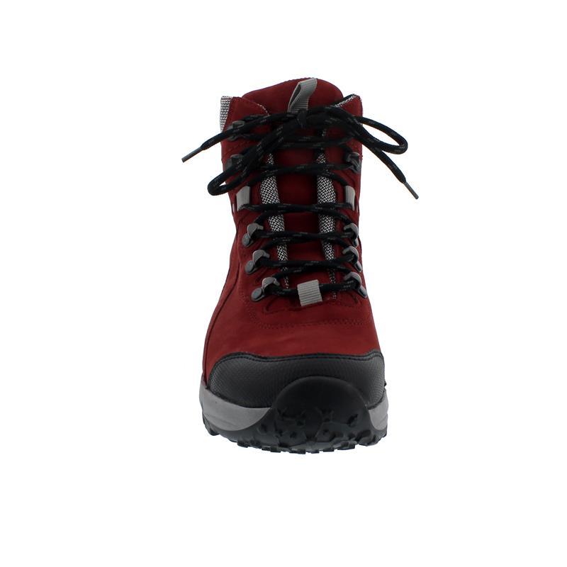 Waldläufer H-Emma,  Outdoor-/Wanderstiefel, Gummi / Nubuk, schwarz/rub in/silber, Weite H 949971-300-691