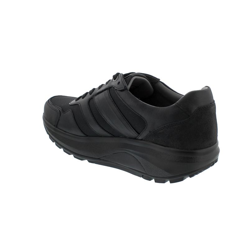 Joya ID Casual M Black II, Halbschuh, Curve-Sohle Full Grain Leather, Textile 186cas