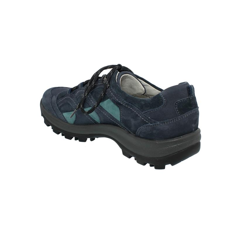 Waldläufer Holly, Outdoor, Halbschuh, Denver Den. Velour, marine/deepblue/ice, Weite H 471014-403-335